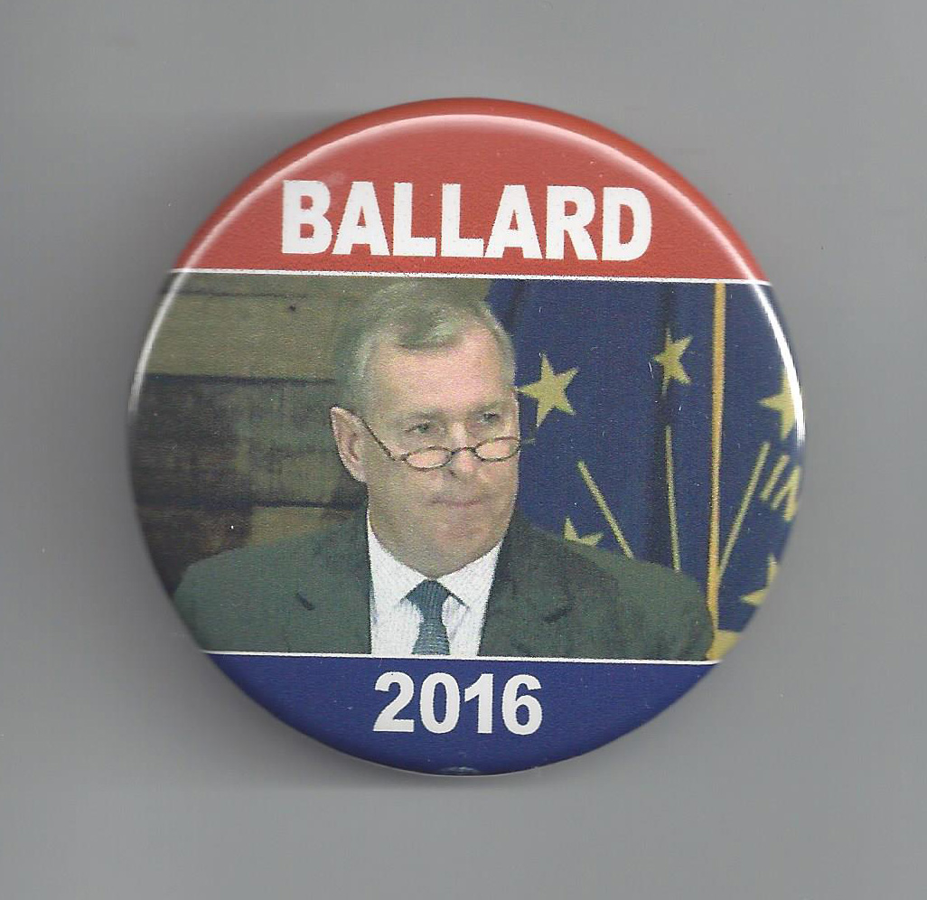 INL810 2016 Greg Ballard Indiana Hopeful pic button $6 00