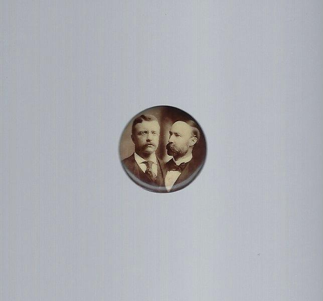 9802dcab4a7 TED032 - 1904 Roosevelt   Fairbanks jugate picture button