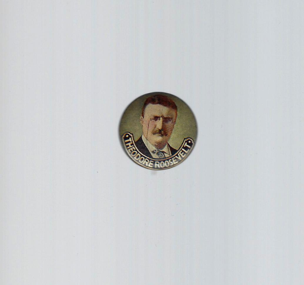 0fcc84718b2 TED038 - 1904 Teddy Roosevelt picture campaign button